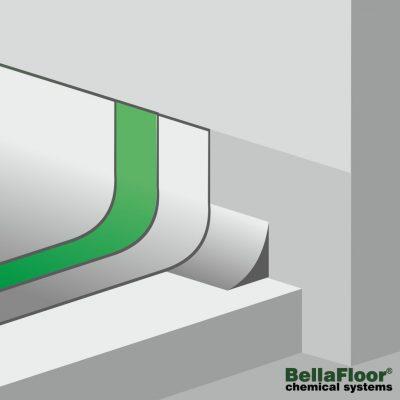 Bindemittel, Verlegeharz, Beschichtungen für fugenlose Bodensysteme von BellaFloor