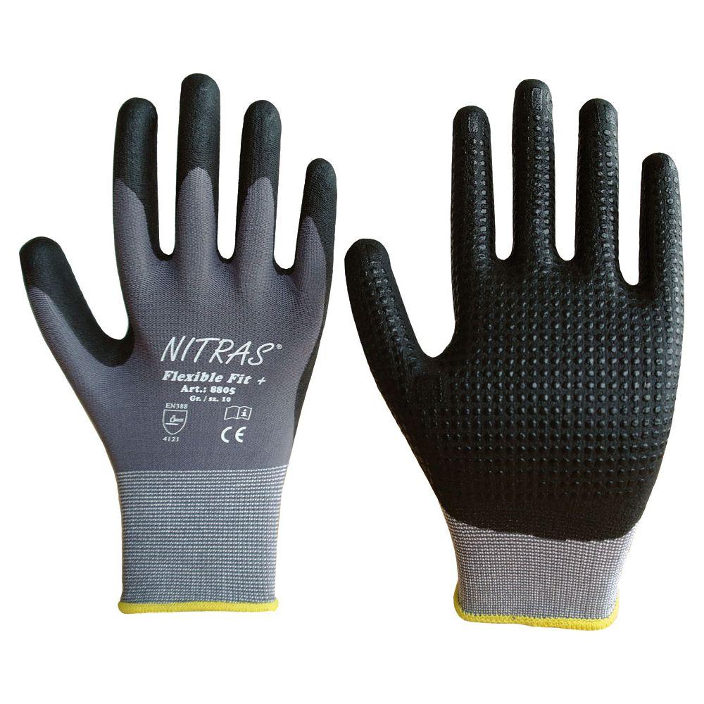Handschuh Nitril mit Noppen