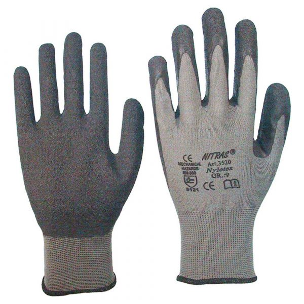 Handschuh Nylon mit Latex