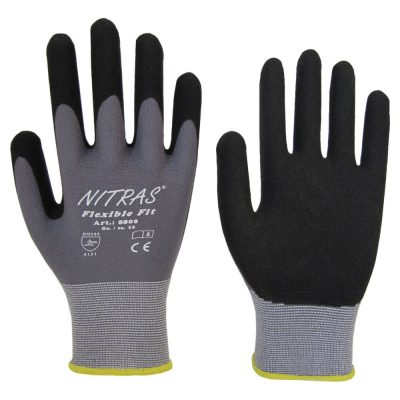 Handschuh Nitril ohne Noppen