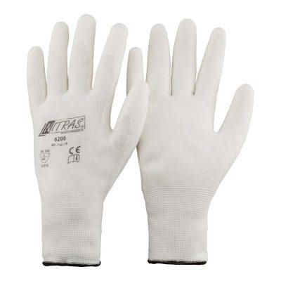 Handschuh Nylon weiss