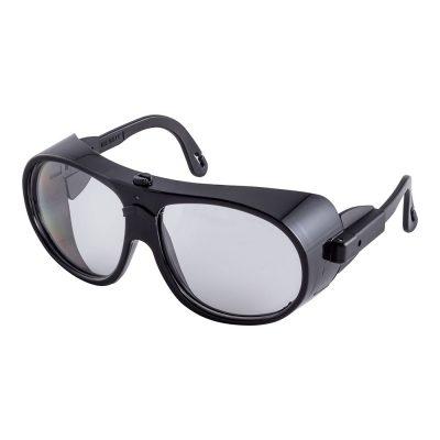 Schutzbrille Pilot schwarz