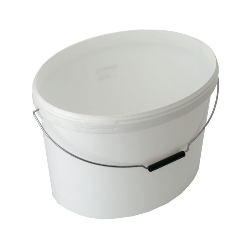 Leereimer oval in verschiedenen Größen zum Umfüllen, Befüllen, Umtopfen, Aufbewahren