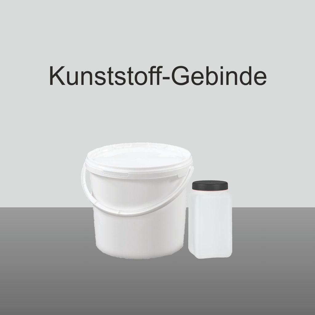 Kunststoff-Kombigebinde für wässrige Harze