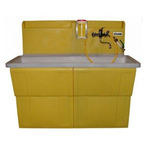 Waschbecken WA 1500 ohne Walzenreiniger