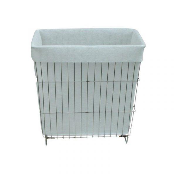 Detailbild für Waschbecken der WA und WAW Reihe, Edelstahlkorb mit Schmutzfilter