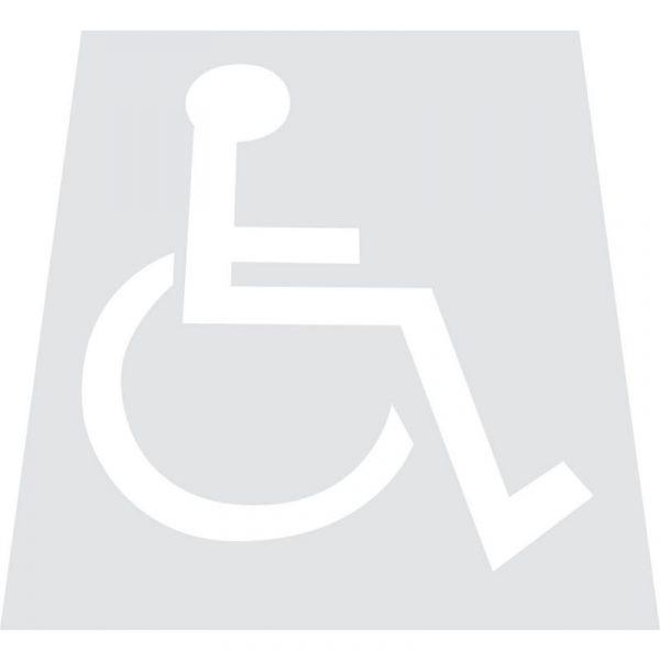 Behindertenschablone